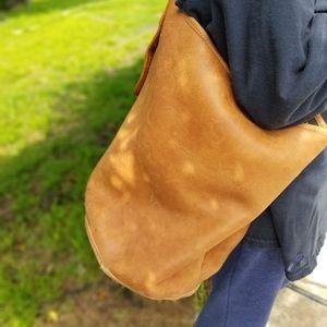 Vintage Coach British Tan Bucket bag